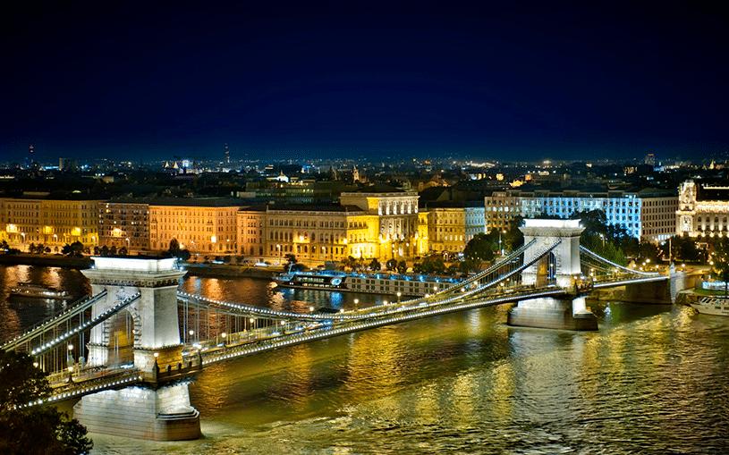 Столица Венгрии - Будапешт состоит из двух частей