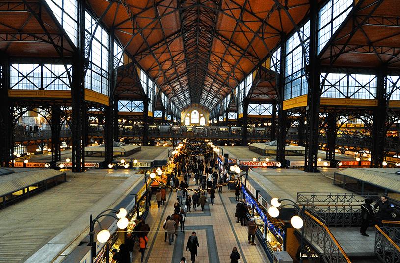Продуктовые магазины в Будапеште