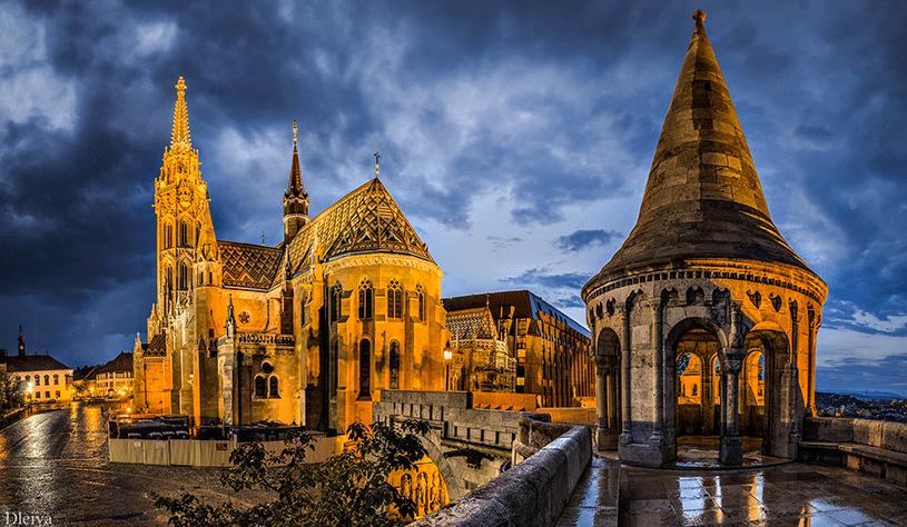 Площадь Капистан в Будапеште