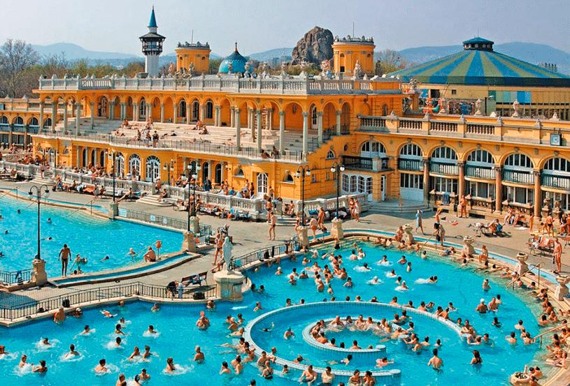 Купальня Сечени Венгрия