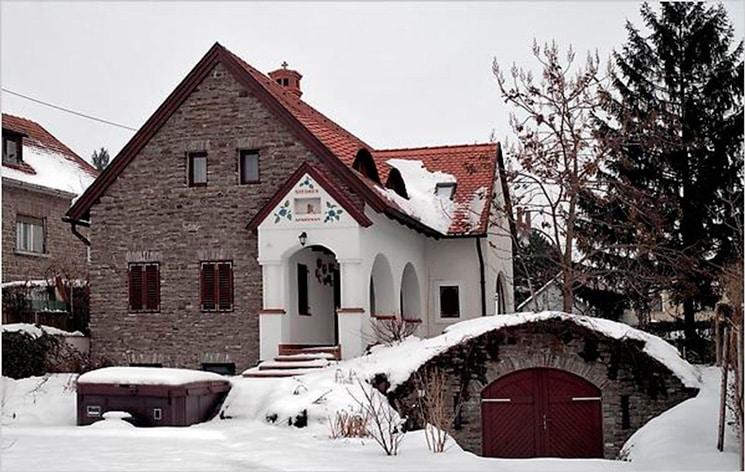Типичный небольшой венгерский коттедж