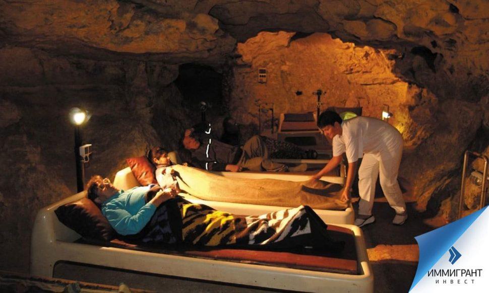 Целебные свойства карстовых пещер подтверждены научными исследованиями