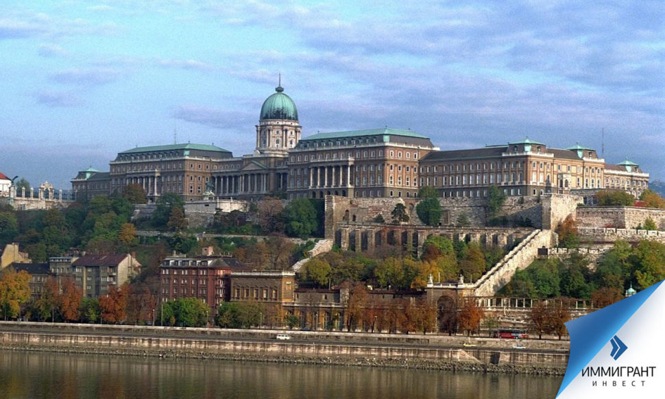 Королевский дворец видно из любой точки Будапешта